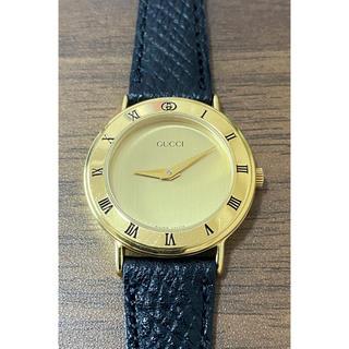 グッチ(Gucci)の☆美品☆ グッチ GUCCI 3000.2.L レディース 時計 腕時計 稼働中(腕時計)
