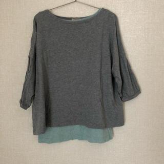 サマンサモスモス(SM2)のサマンサモスモス 七分袖 トップス Tシャツ タンクトップ セット(Tシャツ(長袖/七分))