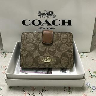 コーチ(COACH)のCOACH二つ折り財布で国内発送 F53562(折り財布)