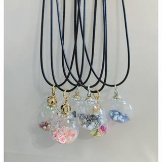 香水モチーフ ドーム パフュームデザイン ネックレス チョーカー レディース(ネックレス)