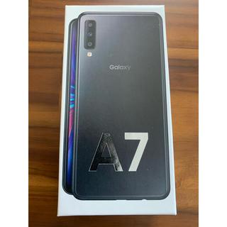 Galaxy - Garaxy A7 64GB SIMフリー(ブラック)