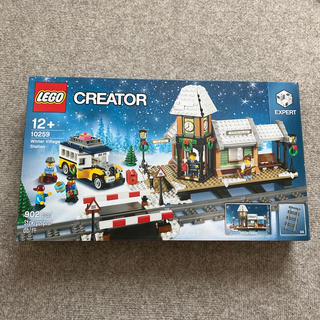 レゴ(Lego)の新品未開封 廃盤 レゴ クリエイター 10259 ウィンタービレッジステーション(知育玩具)