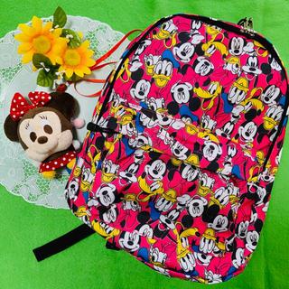 Disney - 新品タグ付き❤️ディズニー❤️ミッキー総柄 リュックサック  バッグパック