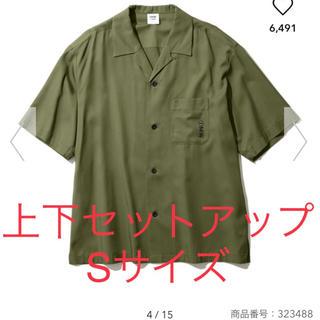 【セットアップ】オープンカラーシャツ ハーフパンツ 1MW by SOPH GU