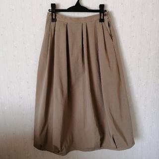ムジルシリョウヒン(MUJI (無印良品))の【無印良品】バルーンスカート Lサイズ(ロングスカート)