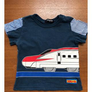 ナルミヤ インターナショナル(NARUMIYA INTERNATIONAL)のkladskap プラレール Tシャツ 80cm 半袖(Tシャツ)
