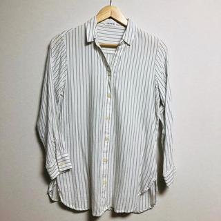 LEPSIM - ストライプシャツ Mサイズ