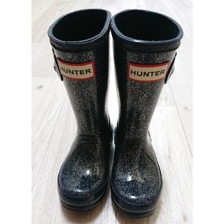 ハンター(HUNTER)のHunter レインブーツ キッズ 子供用 UK8(長靴/レインシューズ)