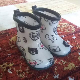 ムージョンジョン(mou jon jon)の美品*ムージョンジョン レインブーツ 長靴*13(長靴/レインシューズ)