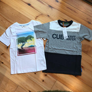 H&M - 新品タグ付き KRIFF MAYER&H&M 恐竜 半袖Tシャツ2枚セット