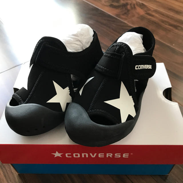 CONVERSE(コンバース)のCONVERSE サンダル16㎝ 値下げしました! キッズ/ベビー/マタニティのキッズ靴/シューズ(15cm~)(サンダル)の商品写真