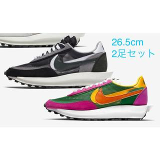 NIKE - Nike Sacai LDWaffle 26.5 2足セット