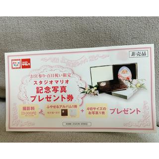 【Amandaさま専用】スタジオマリオ 記念写真プレゼント券(その他)