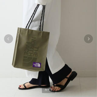 THE NORTH FACE - THE NORTHFACE TPE shoppingBag カーキ
