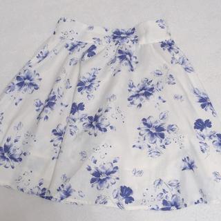 マジェスティックレゴン(MAJESTIC LEGON)のマジェスティックレゴン 花柄スカート(ミニスカート)