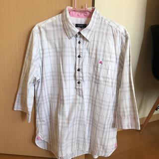 BURBERRY BLACK LABEL - チェックシャツ