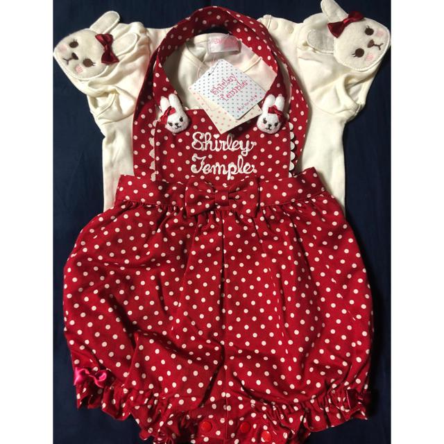 Shirley Temple(シャーリーテンプル)のうさぎちゃんセット キッズ/ベビー/マタニティのキッズ服女の子用(90cm~)(Tシャツ/カットソー)の商品写真