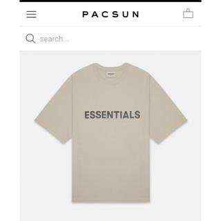 FEAR OF GOD - FOG Essentials 20ss新作 T-shirts  tan