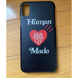 human made girls don't cry iphonex ケース