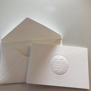 エルメス(Hermes)のエルメス メッセージカード(カード/レター/ラッピング)
