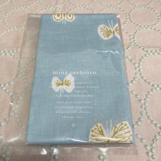 mina perhonen - 新品 未使用 ミナペルホネン ハナハネ ライトブルー 手ぬぐい 手拭い てぬぐい