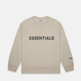 FEAR OF GOD - Essentials Tan Crew Neck Sweatshirt  XS