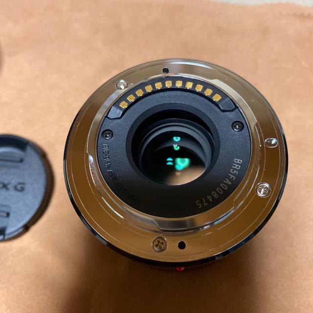 Panasonic(パナソニック)のLUMIX G 42.5mm F1.7 H-HS043 ブラック 単焦点レンズ  スマホ/家電/カメラのカメラ(レンズ(単焦点))の商品写真