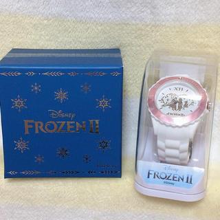 アナトユキノジョオウ(アナと雪の女王)のアナ雪 ダイヤカット時計 腕時計セット(キャラクターグッズ)