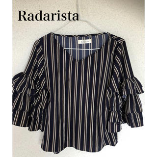 Radarista ラダリスタ ♡フリル袖 プルオーバー ブラウス