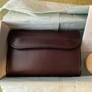 ワイルドスワンズ バーン ダークブラウン イングリッシュブライドル(折り財布)