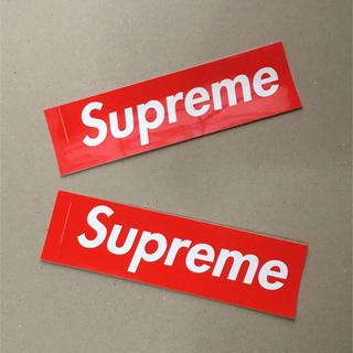 シュプリーム(Supreme)の期間限定!Supreme  シュプリーム  ステッカー (ノベルティグッズ)