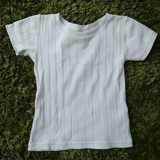 ドアーズ(DOORS / URBAN RESEARCH)の☆URBAN RESEARCH DOORS 白Tシャツ 105㌢ シンプル ☆(Tシャツ/カットソー)