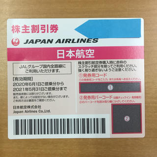 JAL(日本航空) - JAL 株主優待券 ジャル 航空券 2020年 最新版