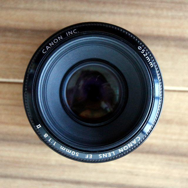 Canon(キヤノン)の★美品★ Canon EF 50mm F1.8 II 【単焦点レンズ】 スマホ/家電/カメラのカメラ(レンズ(単焦点))の商品写真