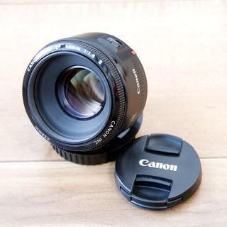 Canon - ★美品★ Canon EF 50mm F1.8 II 【短焦点レンズ】