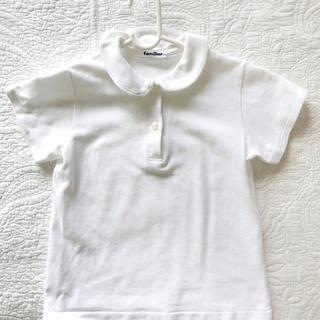 familiar - ファミリア ブラウス 半袖 シャツ 白シャツ 120