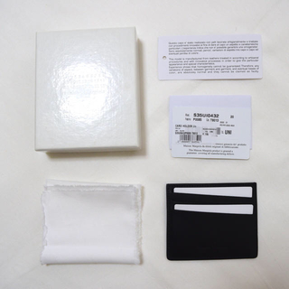 マルタンマルジェラ(Maison Martin Margiela)の即購入可‼︎ 20SS Maison Margiela カードケース(名刺入れ/定期入れ)