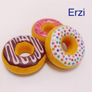 Erzi ドーナツ3種セット 木のおもちゃ 木のおままごと(その他)