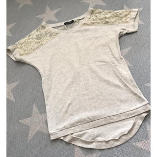 エメフィール(aimer feel)のルームウェア レースTシャツ(ルームウェア)