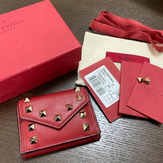 VALENTINO - valentino ロックスタッズ ミニ財布
