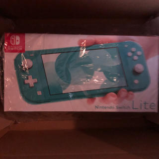 Nintendo Switch - Nintendo Switch Lite ターコイズ 新品