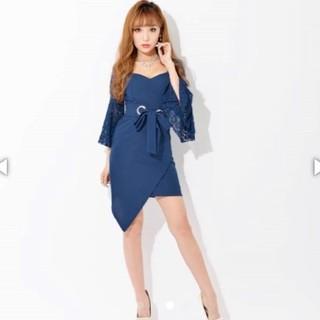 dazzy store - Lsize 着痩せドレス