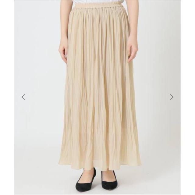 IENA SLOBE(イエナスローブ)の20ss トリコットプリーツスカート スローブイエナ レディースのスカート(ロングスカート)の商品写真