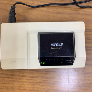 Buffalo - バッファロー Giga対応 スイッチングHub(LSW2-GT-8NPR)