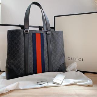 グッチ(Gucci)の大人気のgucciグッチ大容量のメンズトートバッグGGスプリーム(トートバッグ)