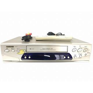 ミツビシ(三菱)の送料無料 MITSUBISHI  VHS ハイファイビデオデッキ HV-H100(その他)