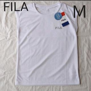 フィラ(FILA)の★新品★ FILA レディース スポーツウェア トップス 袖なし M(ウェア)