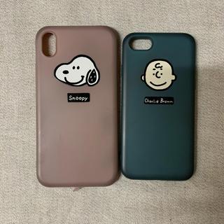 スヌーピー(SNOOPY)のSNOOPY ペアiPhoneケース(iPhoneケース)