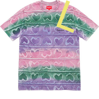Supreme - SUPREME Hearts Dyed S/S Top tee