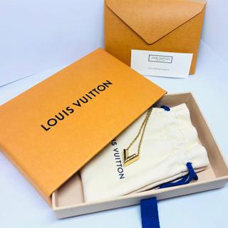 ルイヴィトン(LOUIS VUITTON)のルイヴィトン M61083 エッセンシャルV ネックレス イエローゴールド(ネックレス)